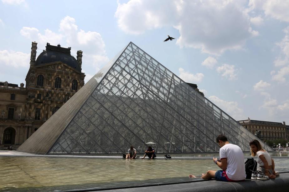 Le musée du Louvre.... (Photo LUDOVIC MARIN, archives Agence France-Presse)