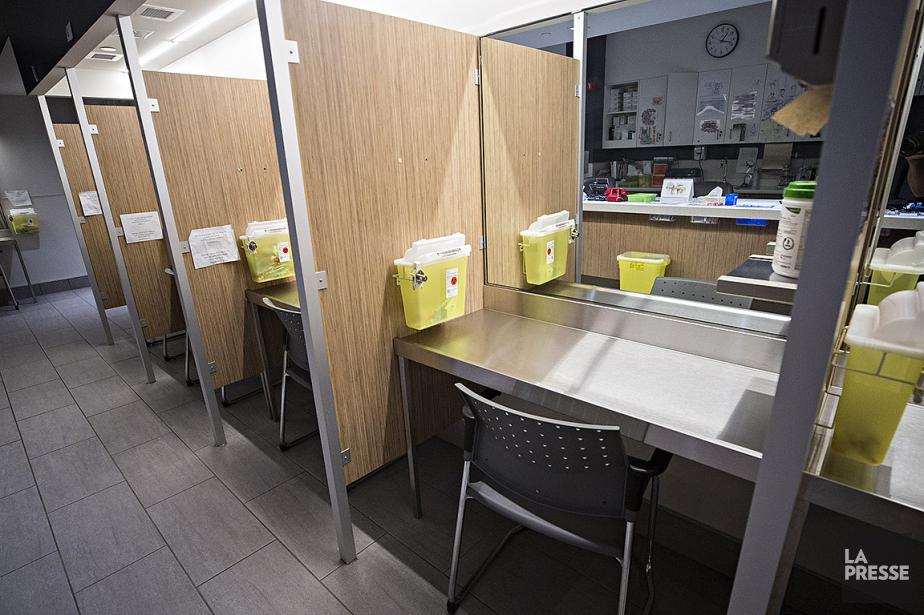 Depuis un an, les quatre sites d'injection supervisée... (Patrick Sanfaçon, La Presse)