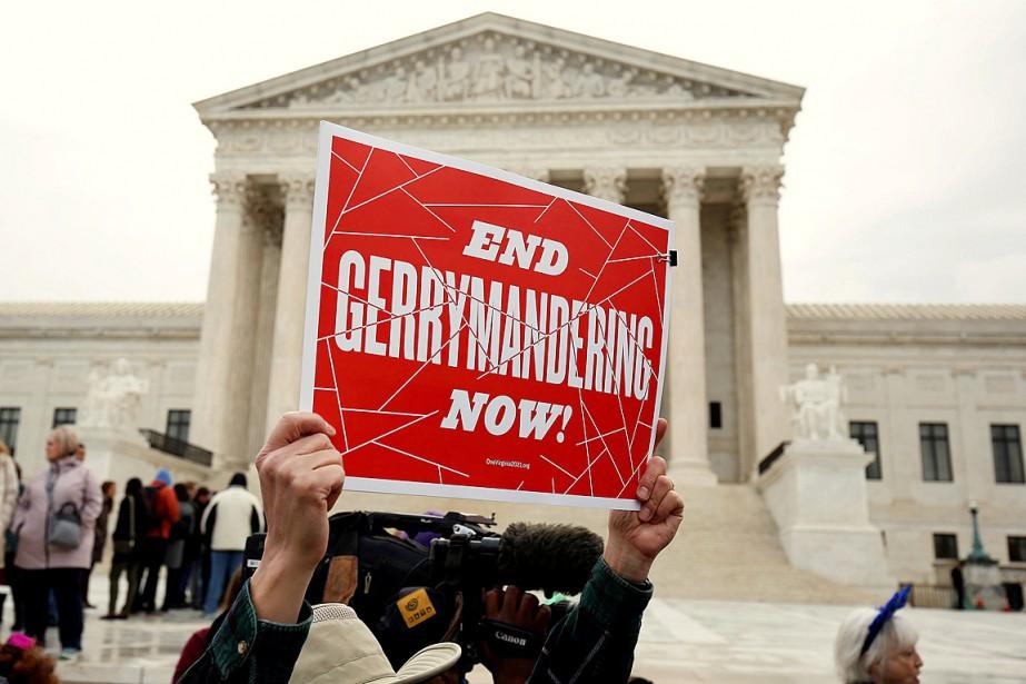 Le «gerrymandering» est une pratique des découpages inéquitables... (PHOTO JOSHUA ROBERTS, ARCHIVES REUTERS)