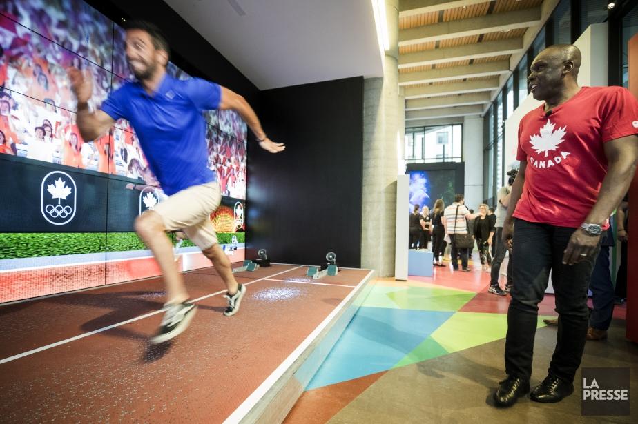 Les visiteurs de la Maison olympique canadienne pourront... (Photo Marco Campanozzi, La Presse)
