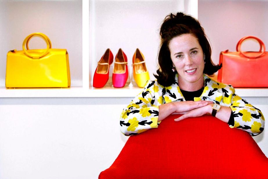 Les funérailles de la créatrice de mode Kate... (Photo archives AP)