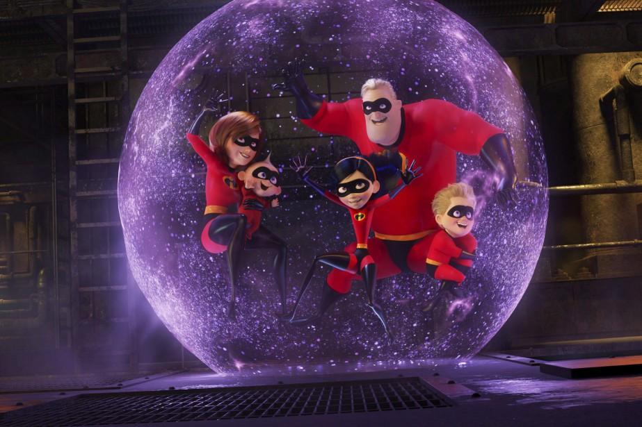 Les cinémas Cinéplex qui présententThe Incredibles 2 ont... (DISNEY)