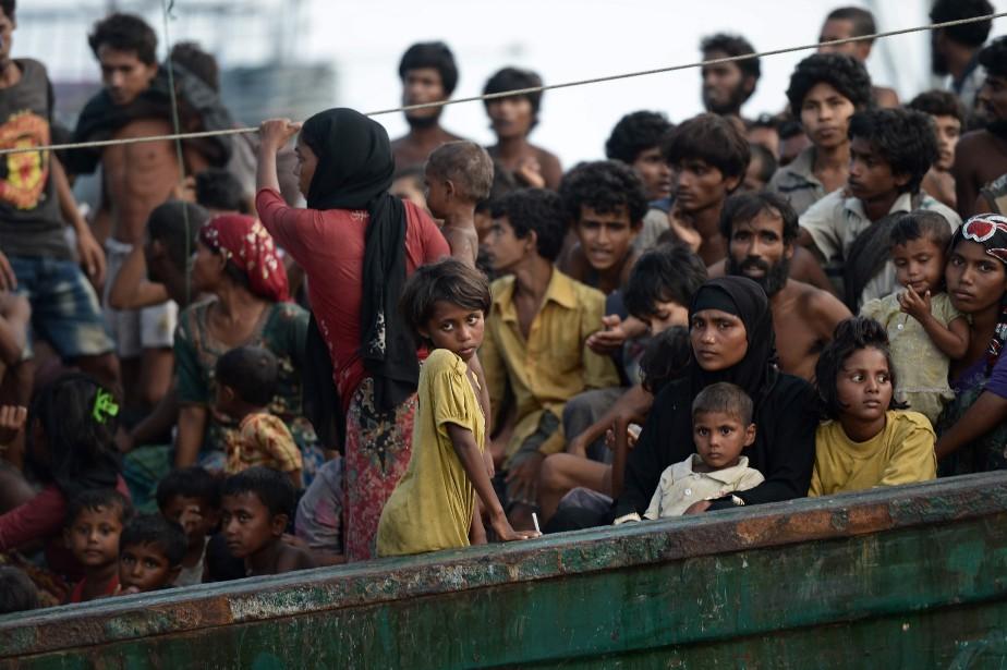 Le Canada a contribué aux opérations de secours... (AFP)