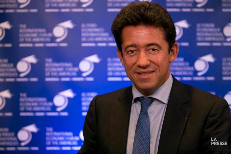 Charles-Édouard Bouée, PDG du groupe international de conseil... (Photo François Roy, La Presse)