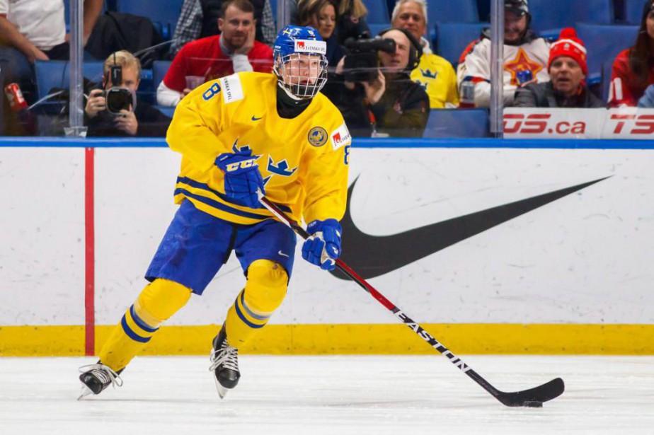 Le Suédois Rasmus Dahlin sera vraisemblablement choisi au... (Photo Mark Blinch, archives La Presse canadienne)