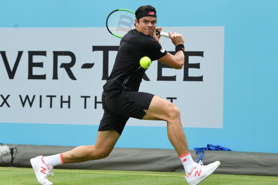 La présence de Milos Raonicau tournoi de Wimbledon... (Photo Tony O'Brien, Reuters)