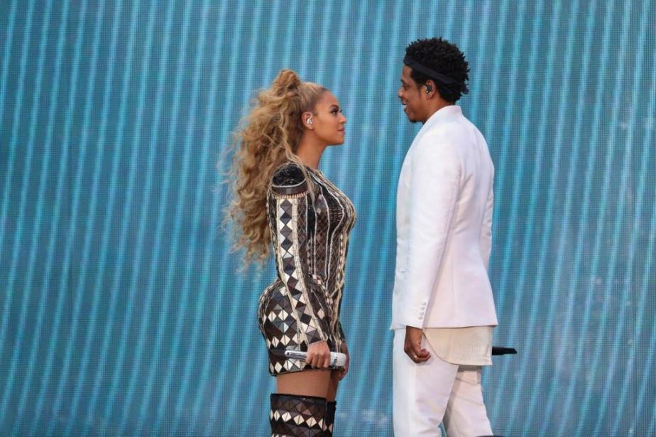 Beyoncé et Jay-Z... (Photo tirée de Facebook)