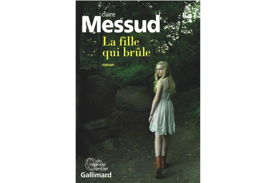 La fille qui brûle... (Image fournie par Gallimard)