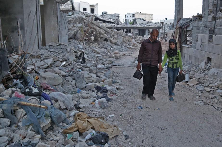 «Le fait que des civils assiégés soient attaqués... (AFP)