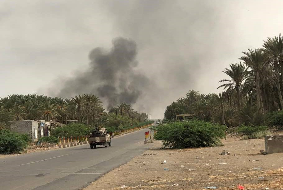 Au terme d'intenses combats, les forces loyales yéménites... (Photo Agence France-Presse)