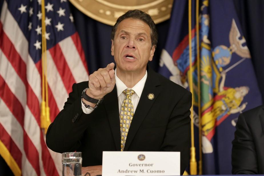 Le gouverneur de l'État de New York, Andrew... (Photo Seth Wenig, Associated Press)