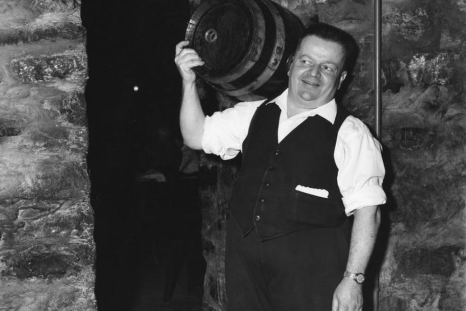 Un fier brasseur à l'époque où les tonneaux... (Photo fournie par l'îlot des Palais)