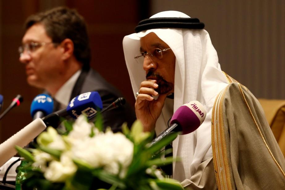 Le ministre de l'Énergie saoudien, Kahled al-Faleh.... (PHOTO FAISAL AL NASSER, REUTERS)