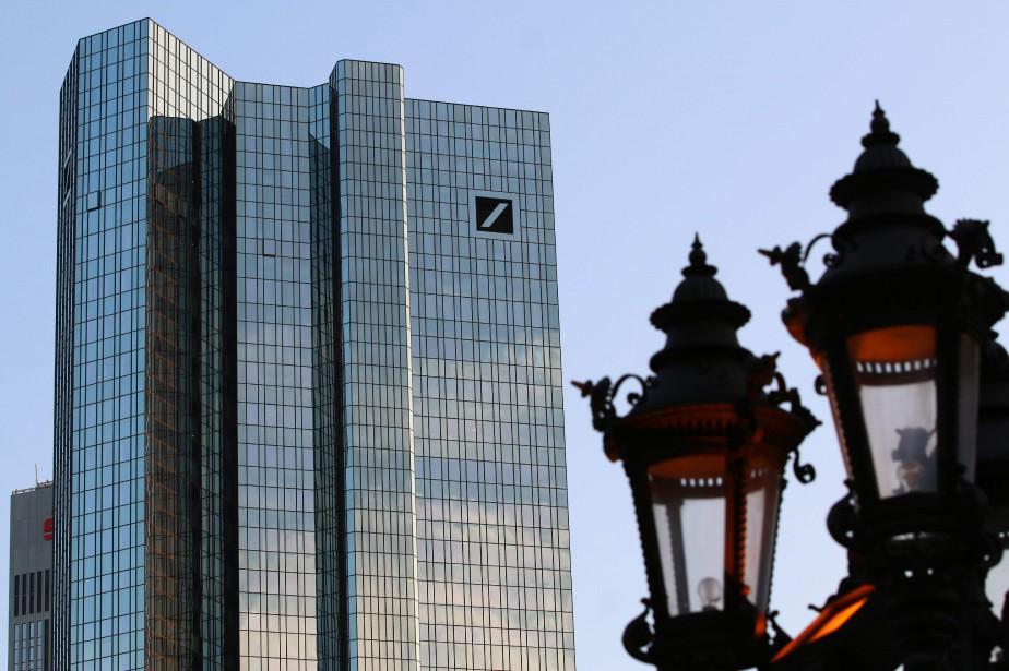 Outre l'amende de 205 millions de dollars, Deutsche... (Photo Yann Schreiber, Agence France-Presse)