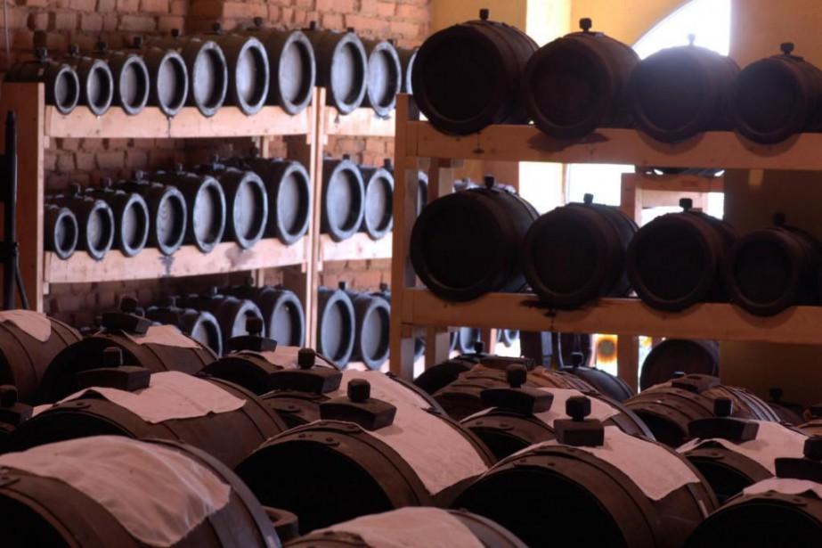 Les barils de l'Acetaia San Giacomo, dans lesquels... (Photo fournie par l'Acetaia San Giacomo)