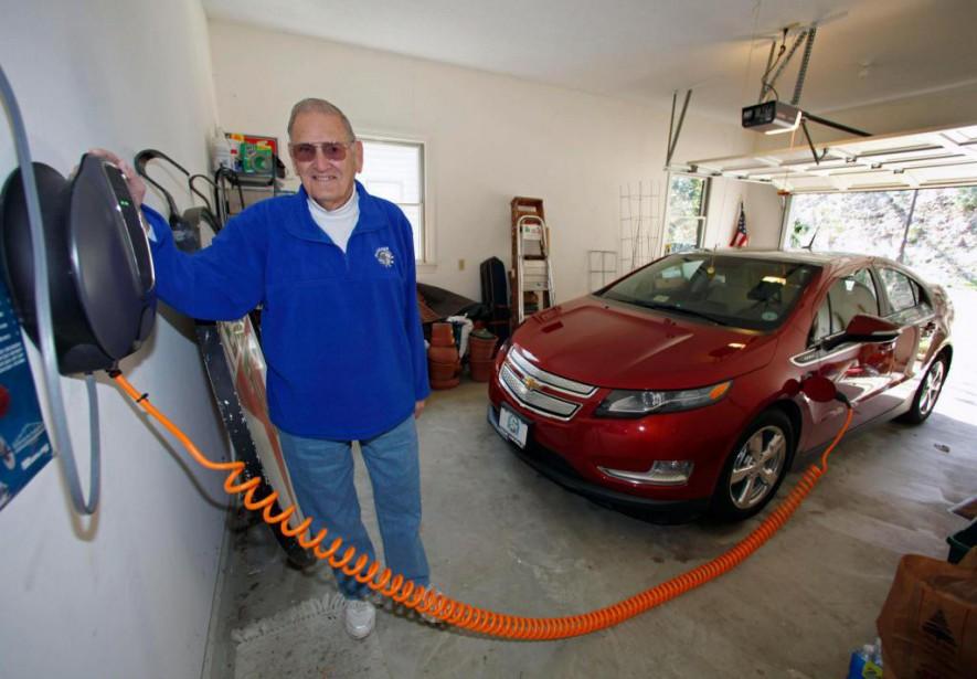 «Dans certains quartiers, avoir une borne de recharge,... (Photo Associated Press)