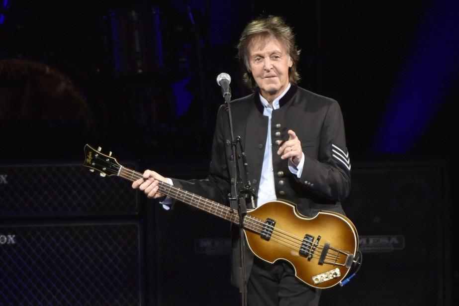 Paul McCartney... (Photo Rob Grabowski, archives Invision/AP)