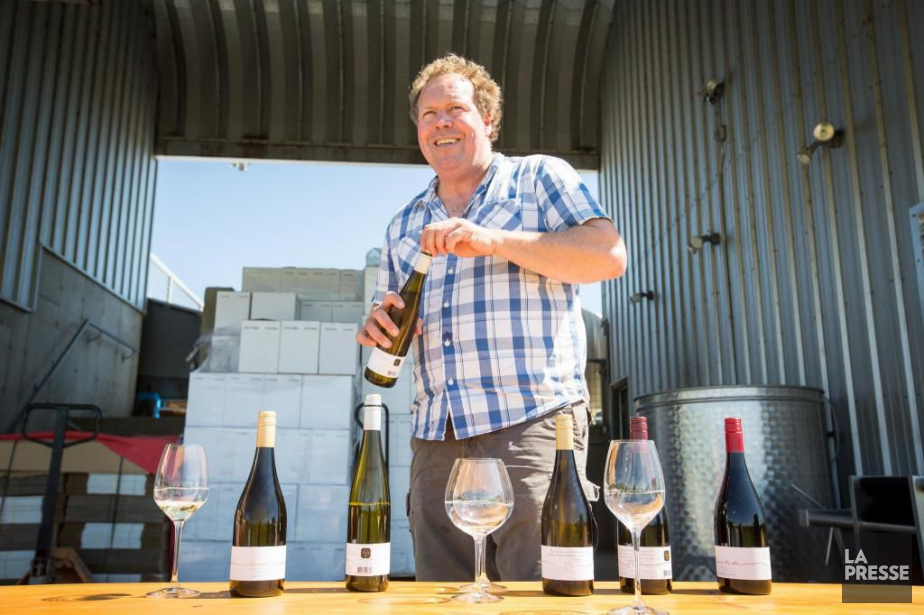 Le vigneron ontarien Norman Hardie est devenu persona... (Photo Olivier Pontbriand, Archives La Presse)