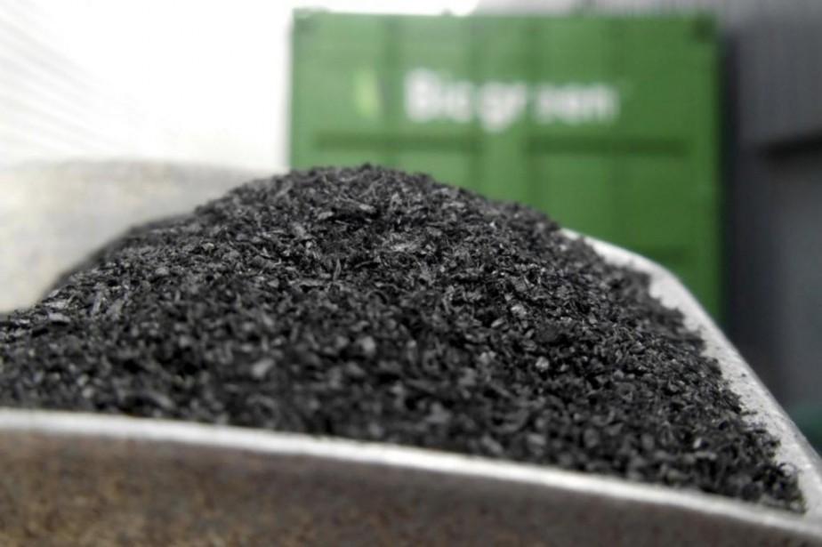 Le charbon naturel, ou «biochar», est un moyen... (photo archives le soleil)