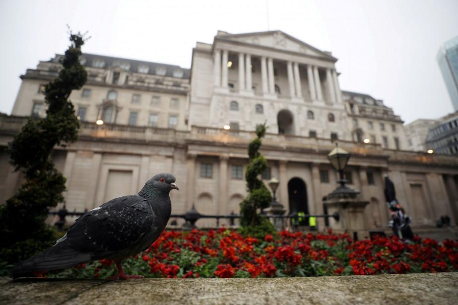 L'édifice de la Banque d'Angleterre à Londres.... (REUTERS)