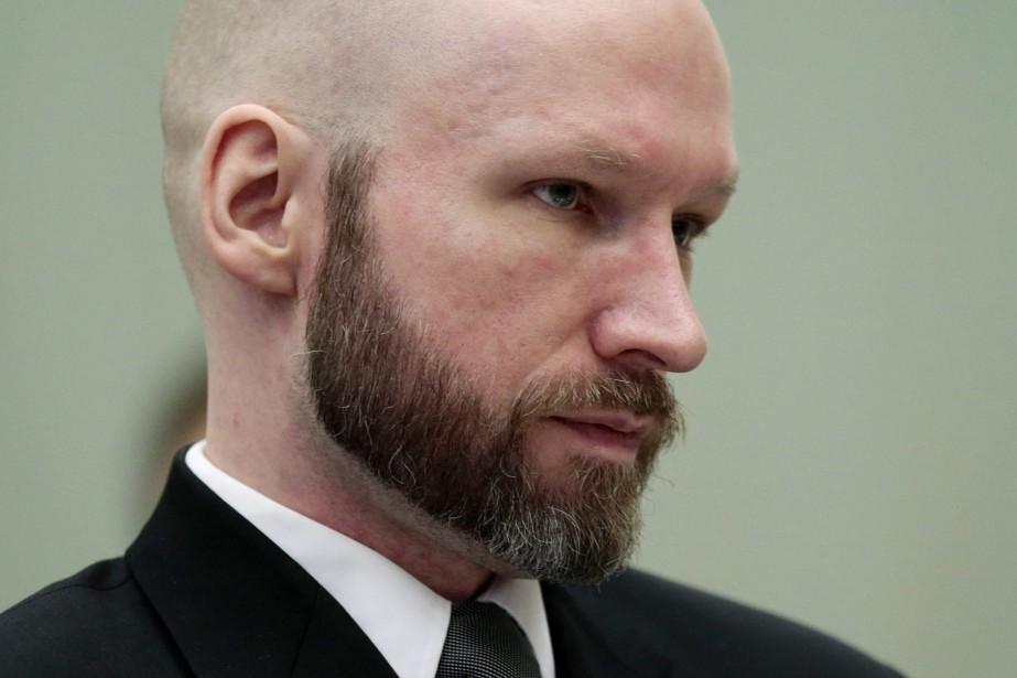 Le tribunal a expliqué que Breivik contestait les... (PHOTO LISE AASERUD, NTB SCANPIX VIA ASSOCIATED PRESS)