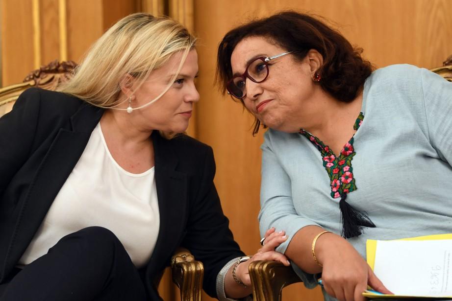 La présidente de laCommission des libertés individuelles et... (PHOTO FETHI BELAID, Agence France-Presse)