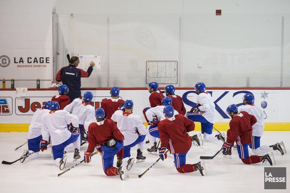 Les jeunes espoirs du Canadien affronteront ceux des... (Photo Edouard Plante-Fréchette, archives La Presse)