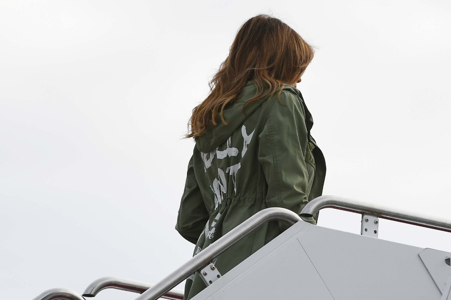 Melania Trump.... (Photo Mandel Ngan, Agence France-Presse)