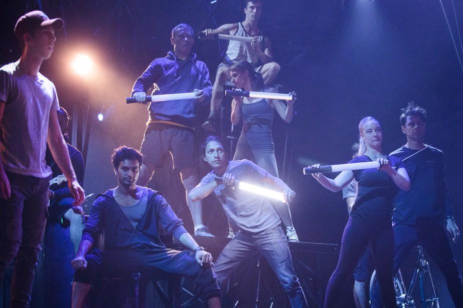 Le Cirque du Soleil a dévoilé jeudi son nouveau spectacle... | 2018-06-21 00:00:00.000