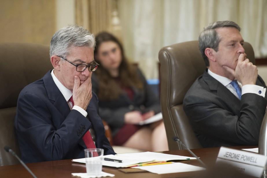Les membres de la Fed ont aussi souligné... (Photo CLIFF OWEN, AP)