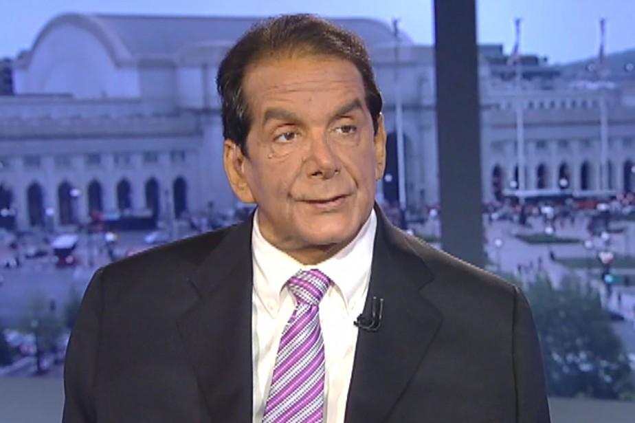 Charles Krauthammer a remporté le prix Pulitzer en... (CAPTURE D'ÉCRAN REUTERS/FOX NEWS)
