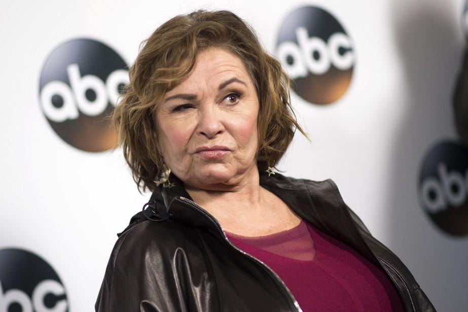 L'actrice Roseanne Barr ne fera pas partie de... (PHOTO VALERIE MAÇON, AFP)