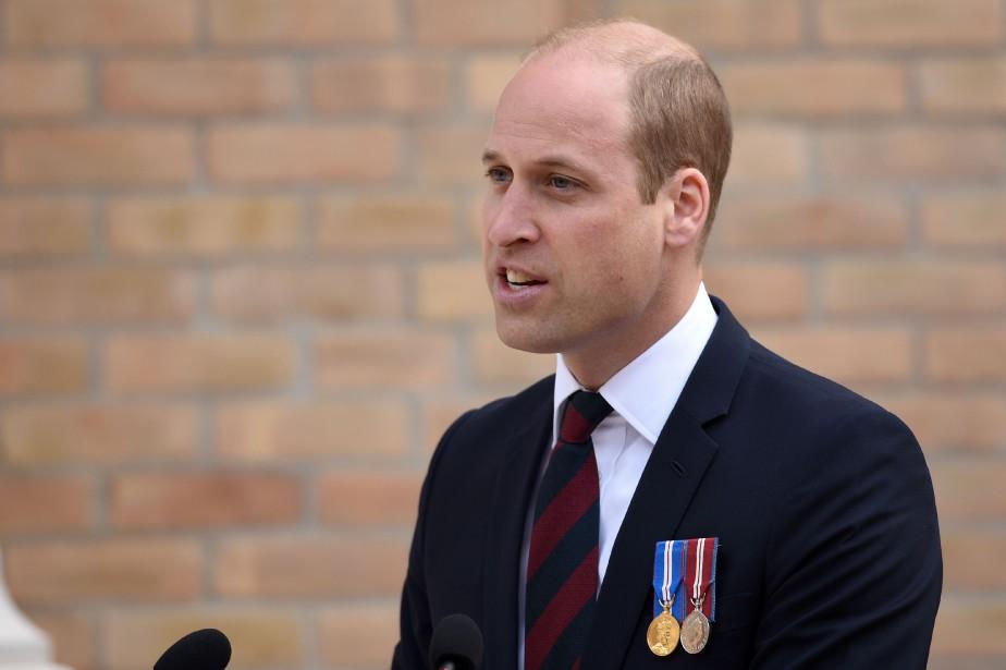 Le prince William, 36 ans, arrive lundi soir... (Photo Oli Scarff, Agence France-Presse)
