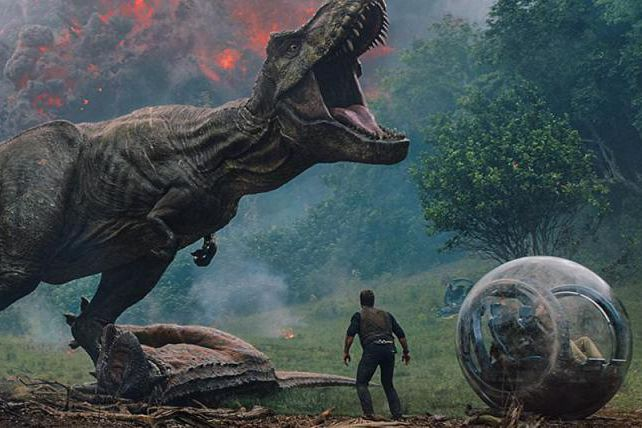Jurassic World : Fallen Kingdom... (Image fournie par Universal Pictures)