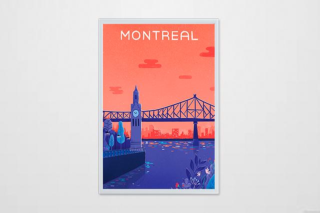 Soirée dans le Vieux Port de Montréal (Courtoisie : Alice Hosdain)