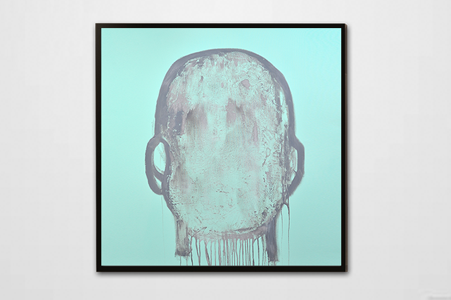 Head Painting #35 (Photo : Daniel Roussel)