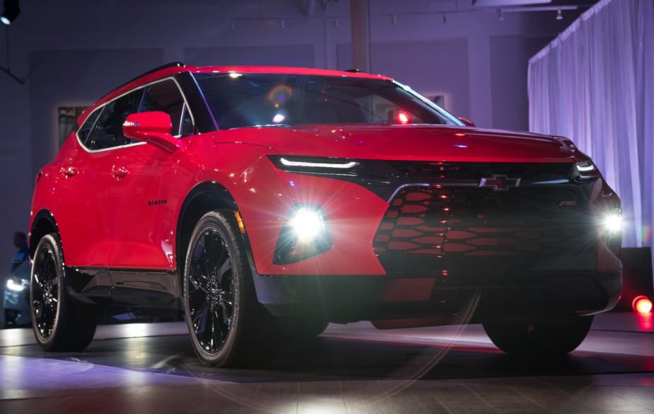 Le Chevrolet Blazer (livrée Premier), hier à Atlanta, Géorgie. | 22 juin 2018