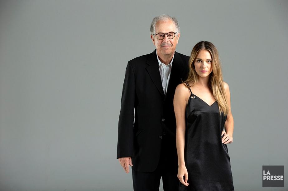 Denys Arcand et Maripier Morin... (PHOTO DAVID BOILY, LA PRESSE)