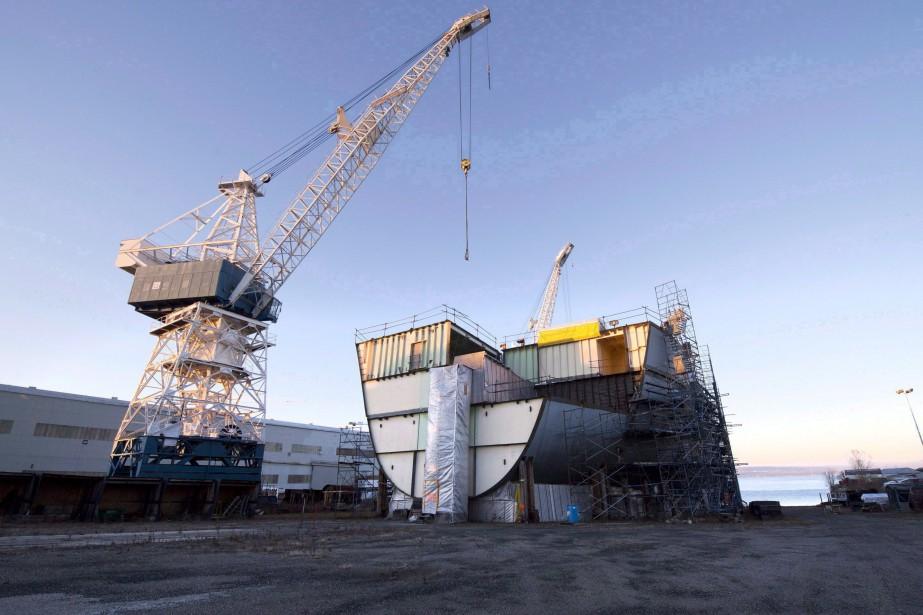 Les navires sont déjà construits et ils devront... (Photo Jacques Boissinot, archives LA PRESSE CANADIENNE)