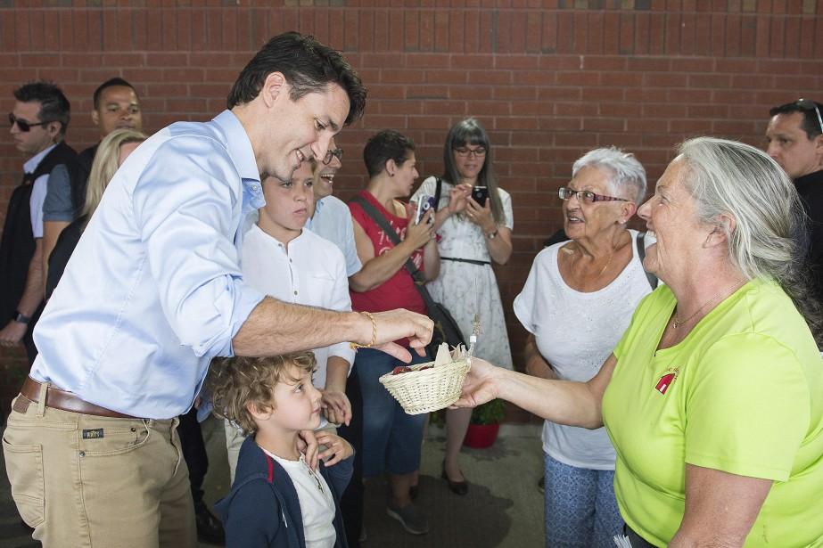 Le premier ministre Justin Trudeau a entamé une tournée de
