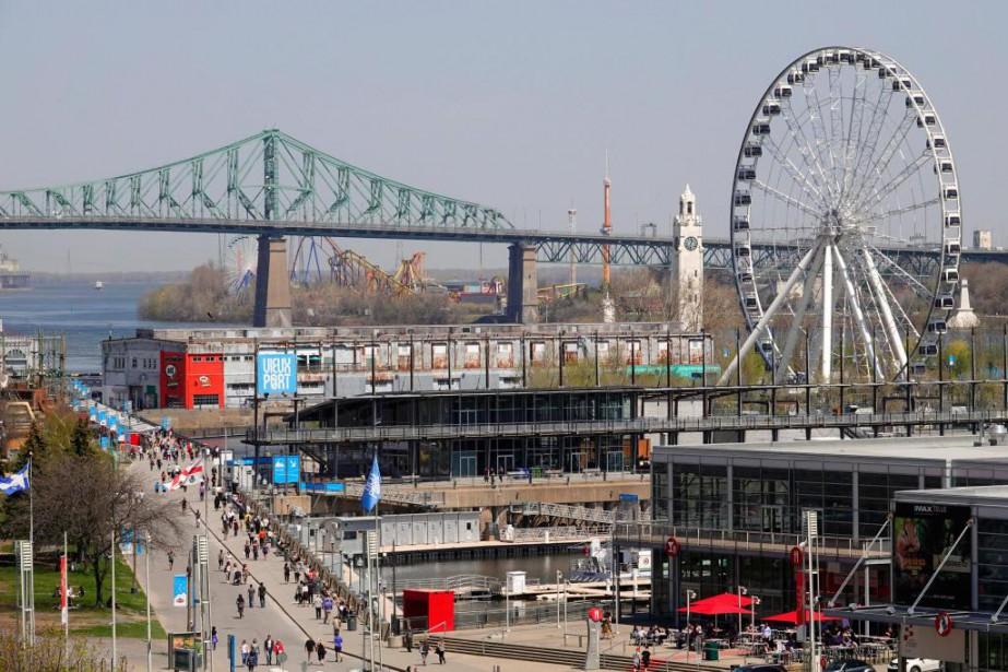 Formidable, Montréal? C'est ce que semble... (PHOTO BERNARD BRAULT, LA PRESSE)