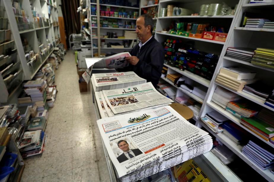 Dans une rare interview, accordée au journal palestinienAl-Qods,... (Photo Mohamad Torokman, REUTERS)