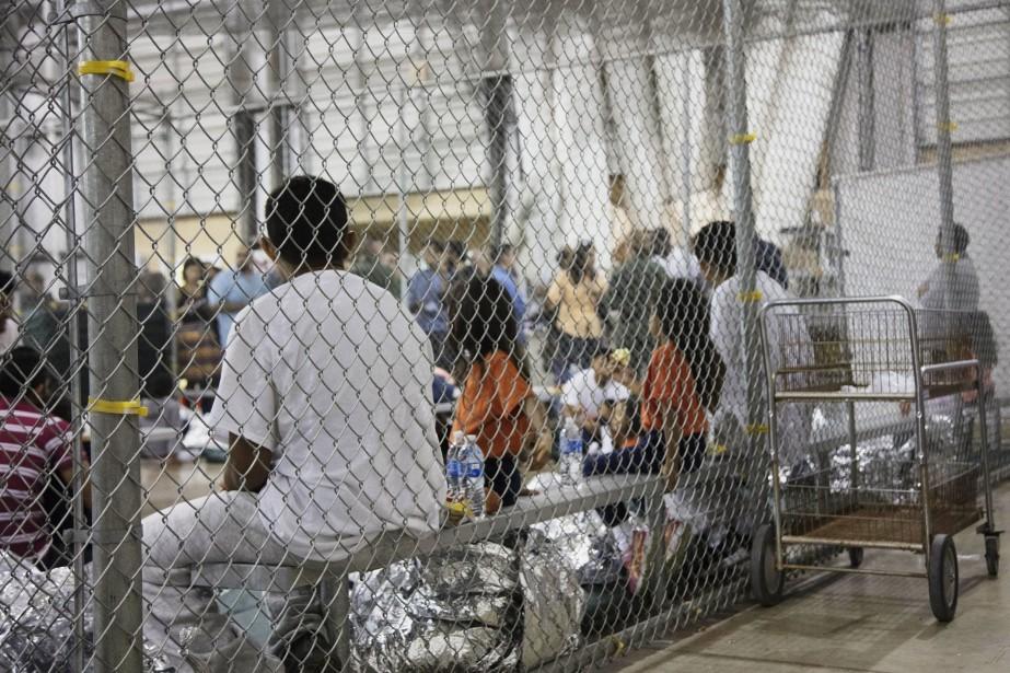 Plus des deux tiers des arrestations de sans-papiers... (Photo Associated Press/Agence des services frontaliers américains)