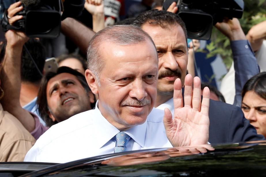Le président turc sortant Recep Tayyip Erdogan.... (REUTERS)