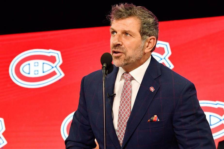 Marc Bergevin, directeur général du Canadien... (PhotoJerome Miron, USA TODAY Sports)