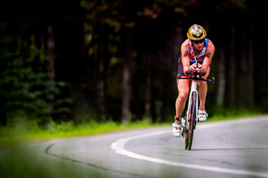 La gagnante de l'épreuve, Meredith Kessler, célébrera son... (Photo Olivier Jean, La Presse)