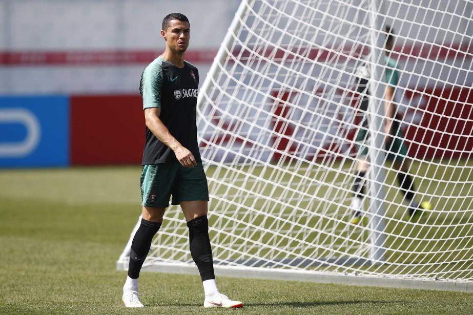 Cristiano Ronaldo... (Photo Axel Schmidt, REUTERS)