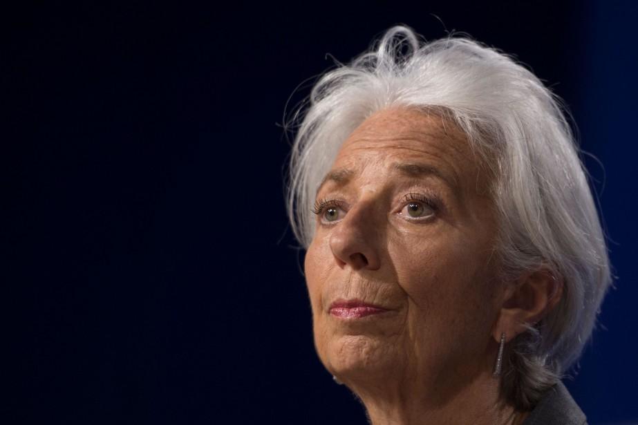 La directrice générale du Fonds monétaire international (FMI)... (Photo ANDREW CABALLERO-REYNOLDS, Agence France-Presse)