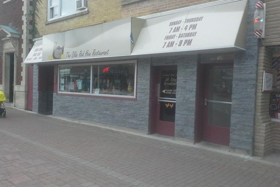 Le restaurant Olde Red Hen, qui n'a rien... (Photo tirée de Facebook)