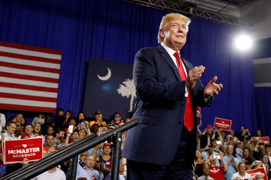 Donald Trump a participé lundi soir à un... (PHOTO REUTERS)
